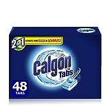 Calgon 2in1 Tabs, Wasserenthärter gegen Kalk & Schmutz in der Waschmaschine, 1er Pack (1 x 48 Tabs)
