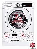 Hoover Waschmaschine 7kg | nur 45cm Tief |Frontlader | EEK A+++ | 1400 U/Min. | 16 Programme u.a. Dampfprogramm | Startzeitvorwahl | Digitales Touchdisplay & WifI/BluetoothTechnologie