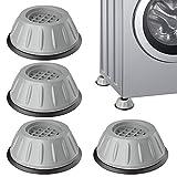 Bluelves Schwingungsdämpfer Waschmaschine, Vibrationsdämpfer, Vibration Dämpfer Pads, 4 Stück Dämpfer Waschmaschine Vibration Dämpfer Pads Waschmaschinenfüße, für Waschmaschine, Kühlschrank, Sofa usw