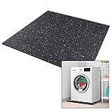 kör4u® Premium Antivibrationsmatte | 60x60x1 cm | geeignet als Waschmaschinenunterlage, Schallschutzmatte, Gummimatte, Schwingungsdämpfer - zuschneidbar | made in germany